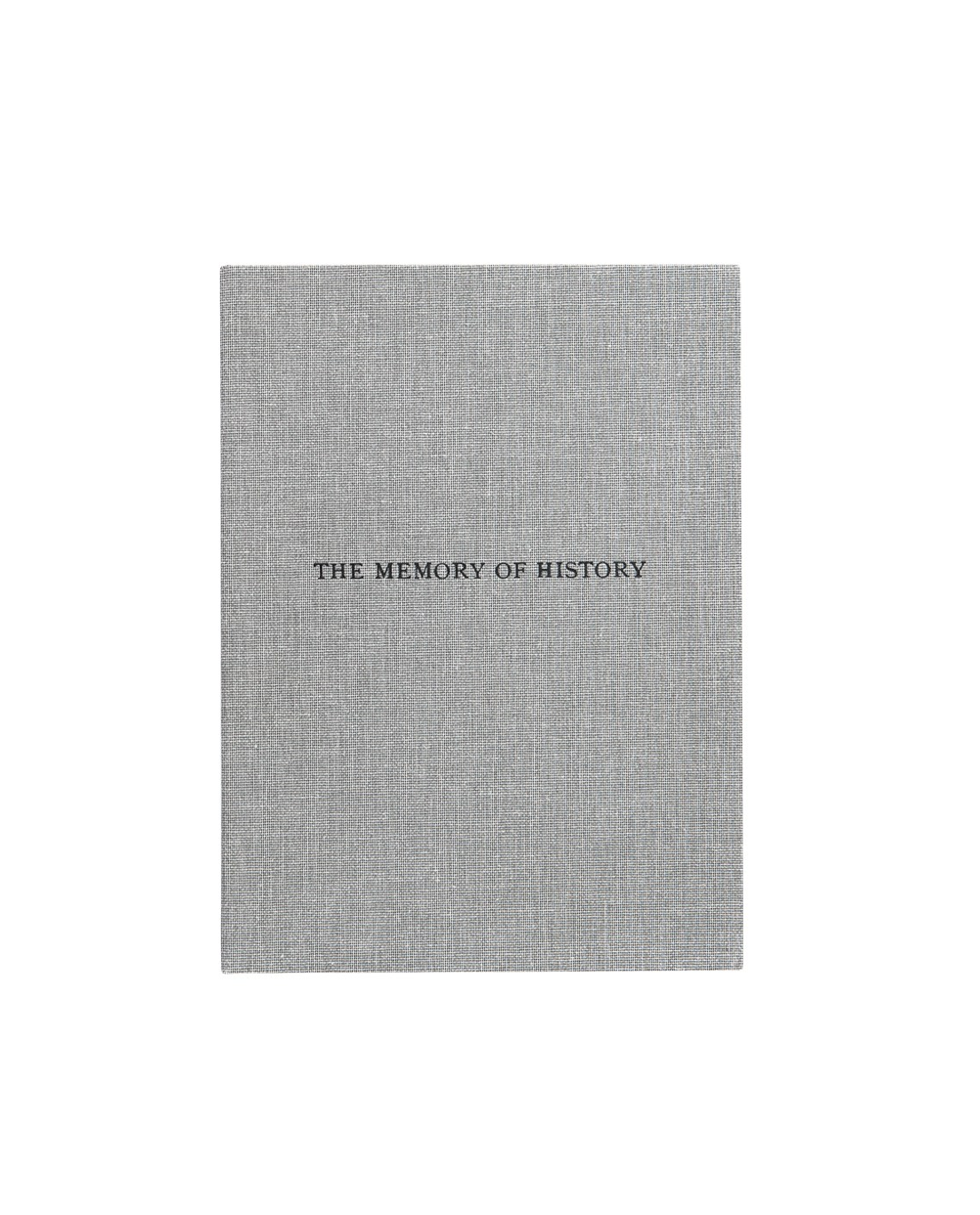 The Memory of History (2012)
