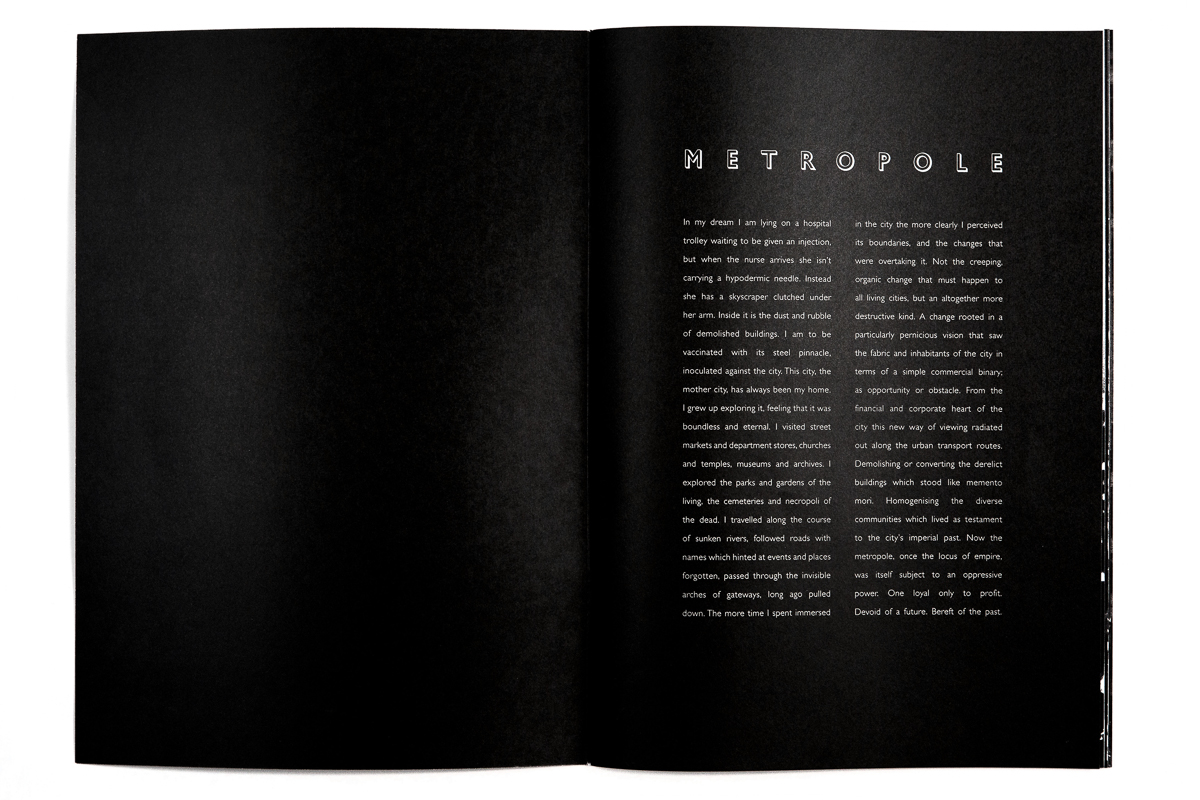 Metropole London city architecture book Lewis Bush (3)